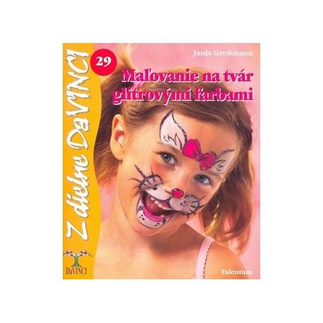 Maľovanie na tvár glitrovými farbami 29