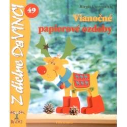 Vianočné papierové ozdoby 49