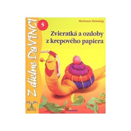 Zvieratka a ozdoby z krepového papiera 5