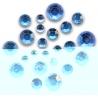 Zrezaný špic v dóze 300ks 2-4mm modré