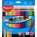 Ceruzky MAPED trojhranné 48 farebné