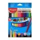 Ceruzky MAPED trojhranné 36 farebné