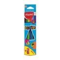 Ceruzky MAPED trojhranné 12 farebné + strúhadlo