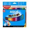 Ceruzky MAPED/24 3HR fareb. súprava na akvarel