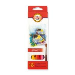 Ceruzky akvarelové 18 farieb 3717/18