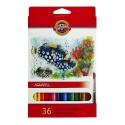 Ceruzky akvarelové 36 farieb 3719/36