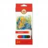 Ceruzky akvarelové 24 farieb 3718/24