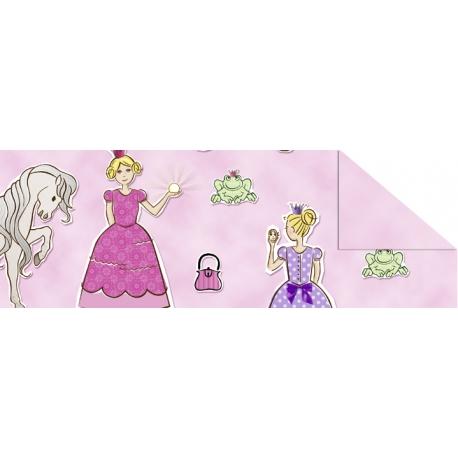 Fotokartón 300g Detsky svet A4 princezné