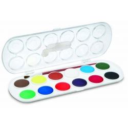 Vodové farby 12ks