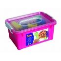 Prstové farby 6x125ml, v kufríku s príslušenstvom