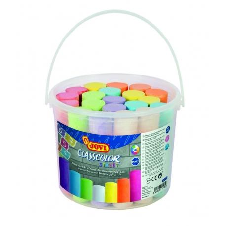 Kriedy chodníkové farebné 20ks, 25mm