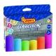 Kriedy chodníkové farebné 6ks, 105mm