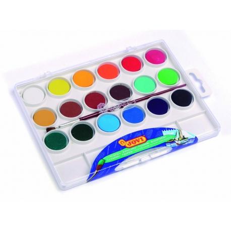 Vodové farby 18ks