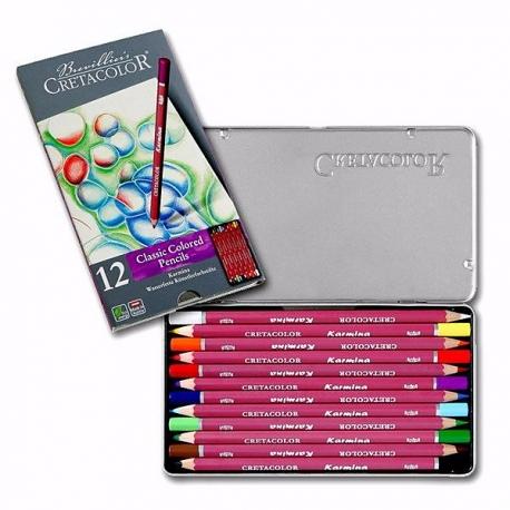 Sada umeleckých ceruziek KARMINA 12ks