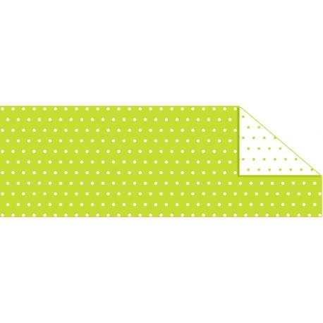 Fotokartón 300g MiniBodky A4 svetlo zelený