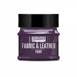 Farba na textil a kožu 50ml glitr. fialová