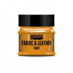Farba na textil a kožu 50ml oranžová