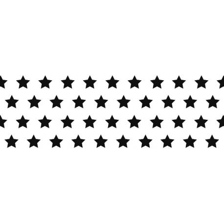 Fotokartón 300g MiniHviezdy A4 čierny