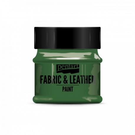 Farba na textil a kožu 50ml zelená