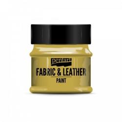 Farba na textil a kožu 50ml zlatá