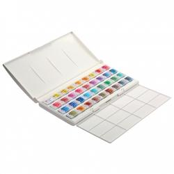 """Akvarelové farby """"White Night"""" 24 dielny set"""