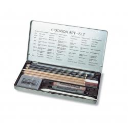 Umelecká kazeta GIOCONDA ART SET v plechu malá