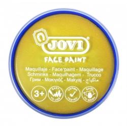 Farby na tvár v kelímku 20ml, 1ks žltá