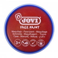 Farby na tvár v kelímku 20ml, 1ks červená