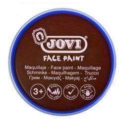 Farby na tvár v kelímku 20ml, 1ks hnedá