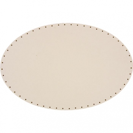 Sololak biely elipsa, 26x39,5cm s otvormi