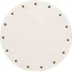 Sololak biely pr. 10cm s otvormi