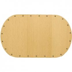 Sololak buk, ovál 18x11cm s otvormi