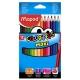 Ceruzky MAPED trojhranné 12 farebné JUMBO