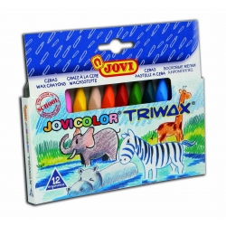 Trojhranné voskovky TRIWAX 12ks