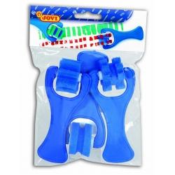 Valčeky pečiatkové modré 3ks