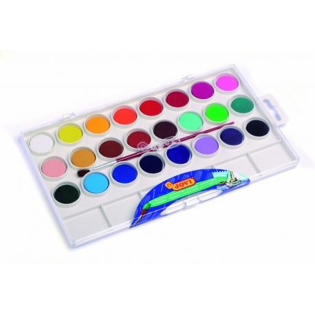 Vodové farby 24ks