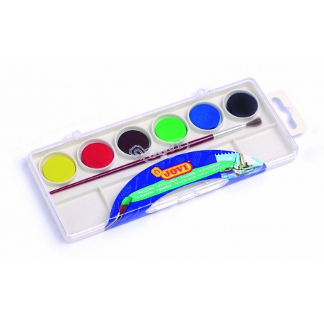 Vodové farby 6ks