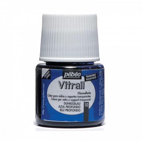 Vitrial 45ml, 10 Deep blue