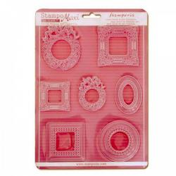Plastová forma STAMPERIA A4 rámčeky