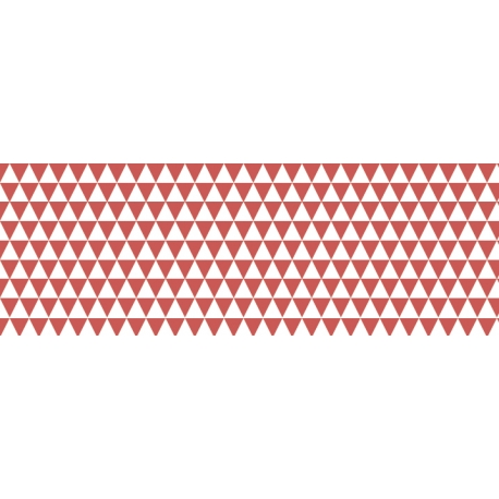 Fotokartón 300g MiniTrojuholníky A4 červený