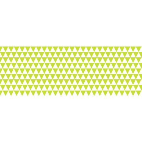 Fotokartón 300g MiniTrojuholníky A4 svetlo zelený