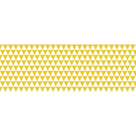 Fotokartón 300g MiniTrojuholníky A4 žltý