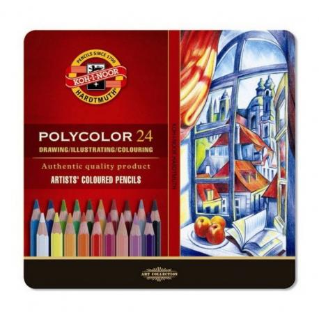 Ceruzky KOH POLYCOLOR 24ks 3824