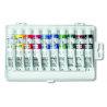 Farby temperové 16 ml, 10 odtieňov, plastový obal