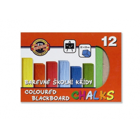 Krieda školská 12 farieb 112506
