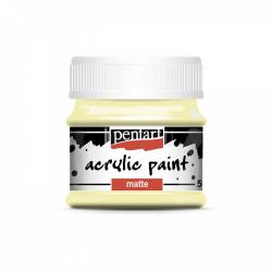 Akrylová farba matná 50ml, maslová