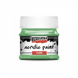 Akrylová farba matná 50ml, papagájová zelená