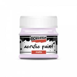 Akrylová farba matná 50ml, pastelová fialová
