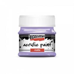 Akrylová farba matná 50ml, svetlo fialová