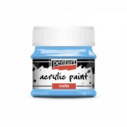 Akrylová farba matná 50ml, svetlo modrá